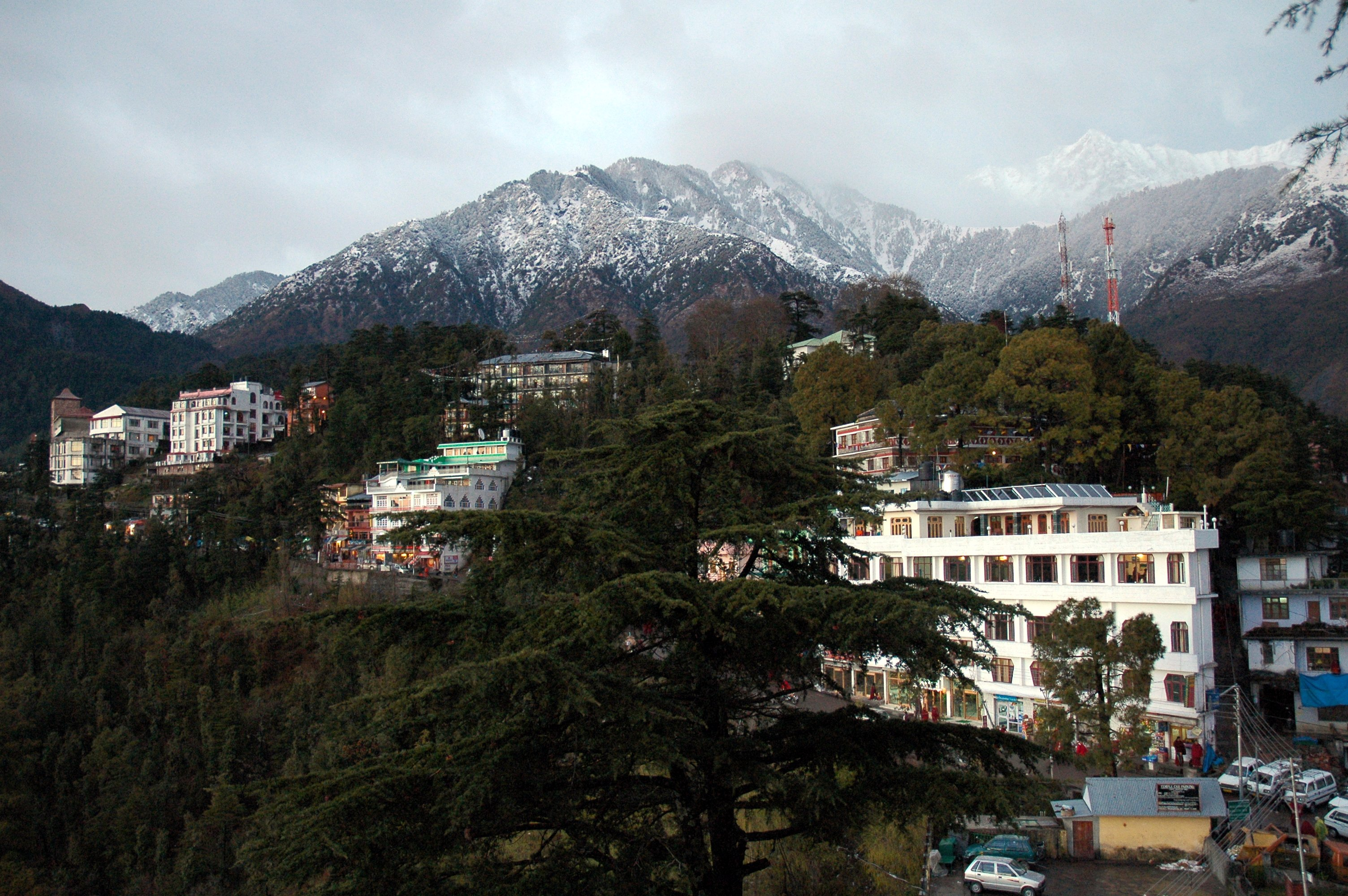 Dharamshala India  city photos gallery : Dharamsala McLeod Ganj , Himachal Pradesh, India