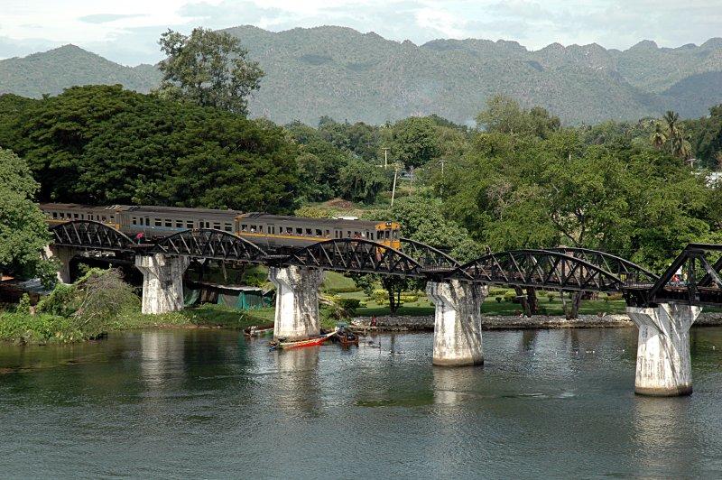 Kanchanaburi (Bridge over River Kwai) and Nakhon Pathum